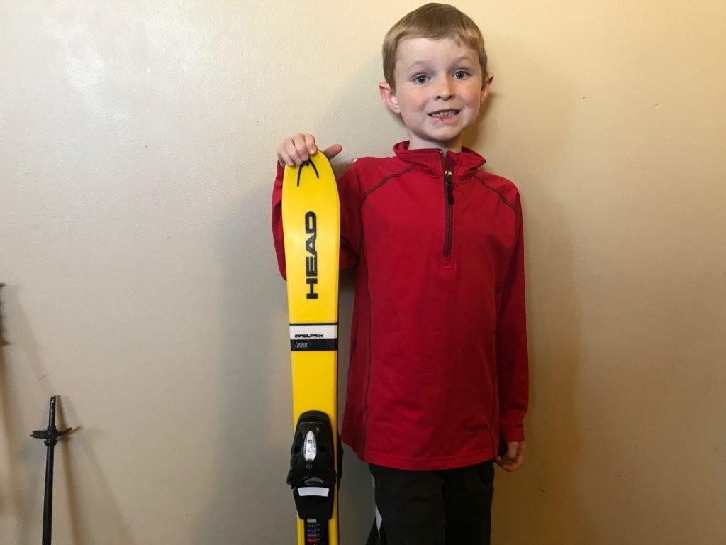 kids ski sizes