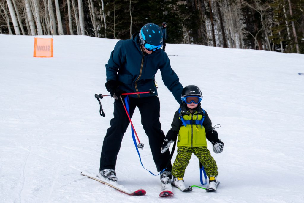 toddler ski harness and edgie wedgie