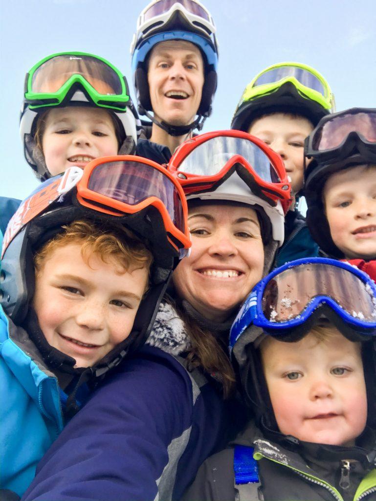 family ski helmets