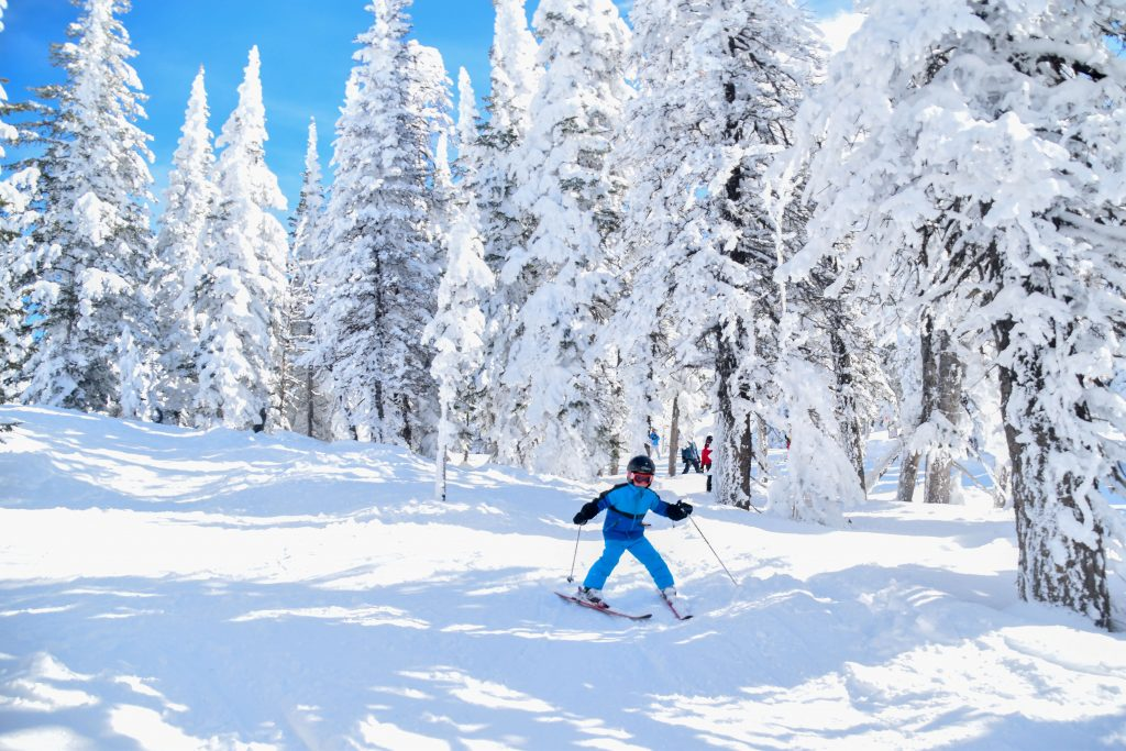 Grand targhee kids skiing