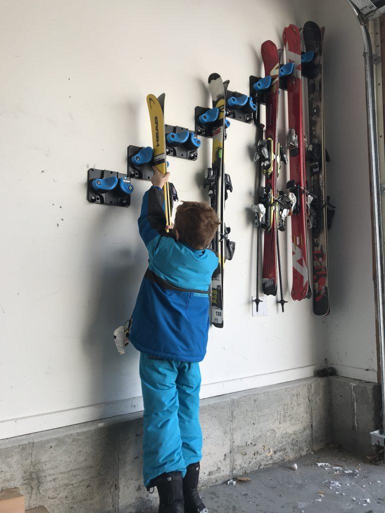 gravity grabber ski rack