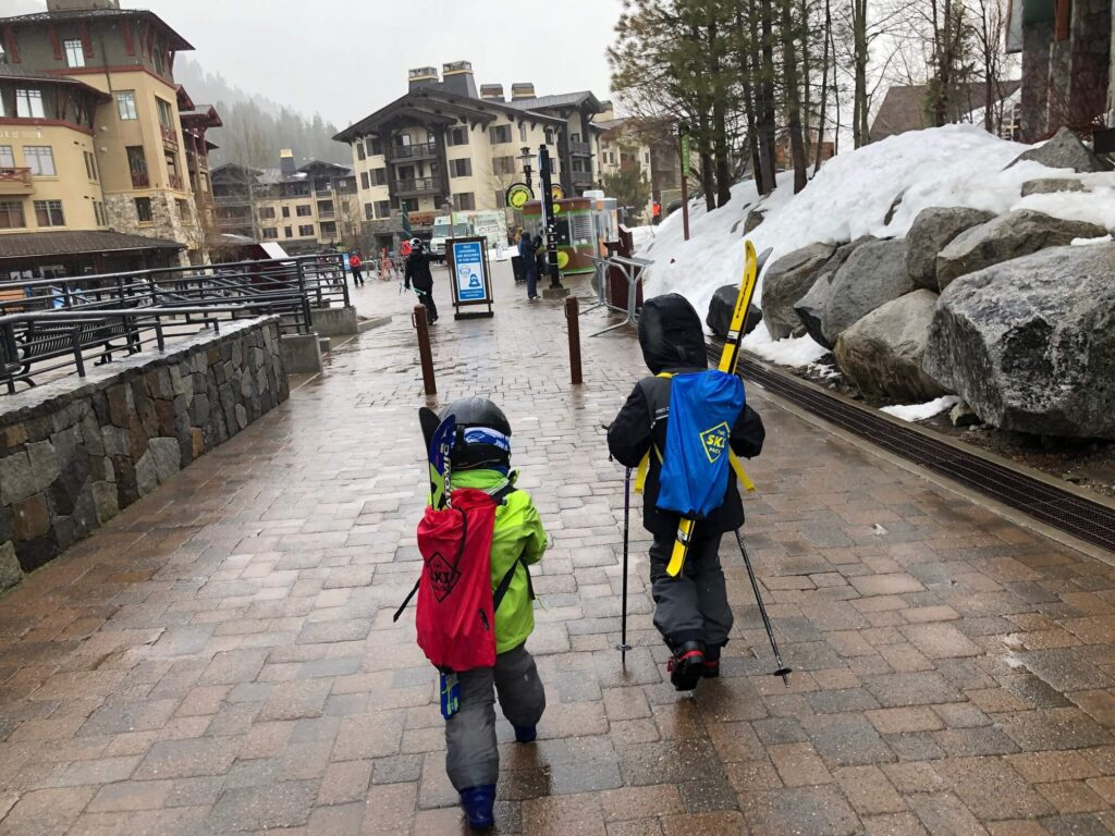 apres ski with kids at squaw valley