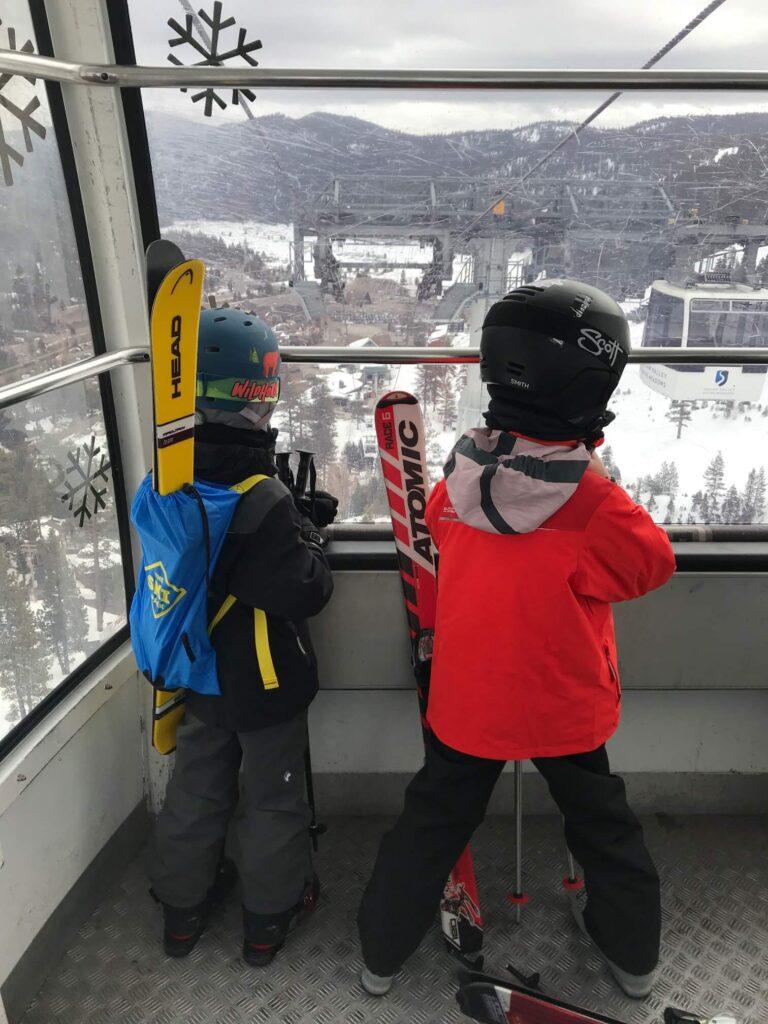 used kids skis