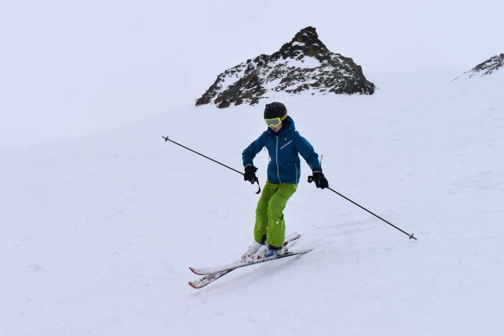 advanced kid ski gear
