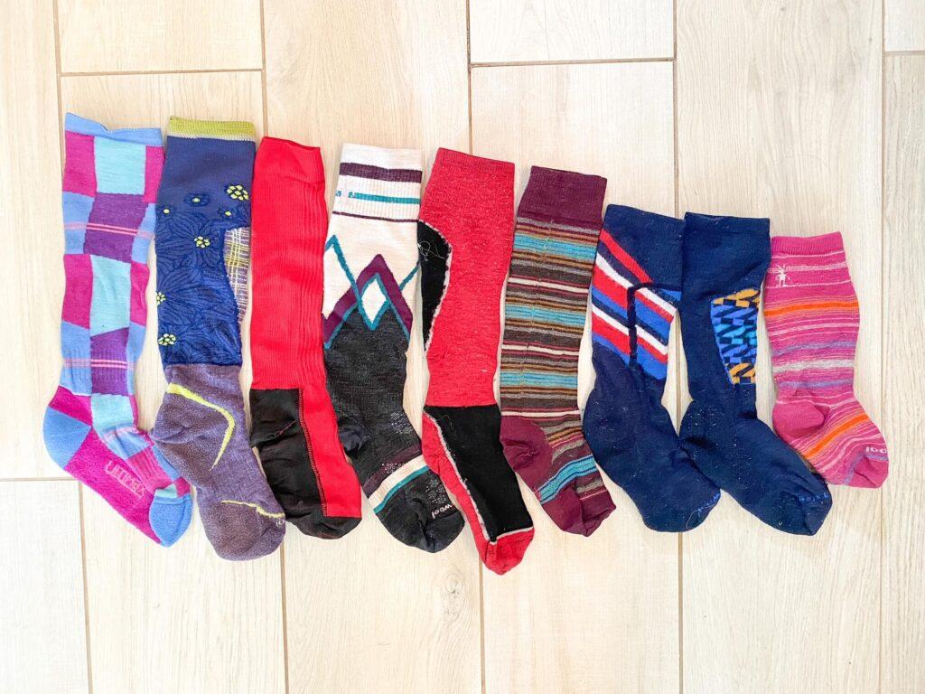 best kids ski socks