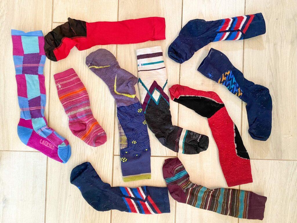 choosing ski socks for kids