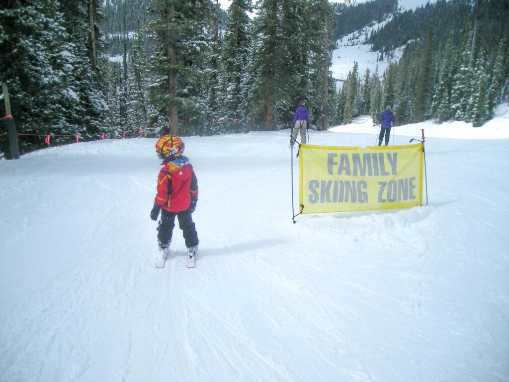 family ski zone