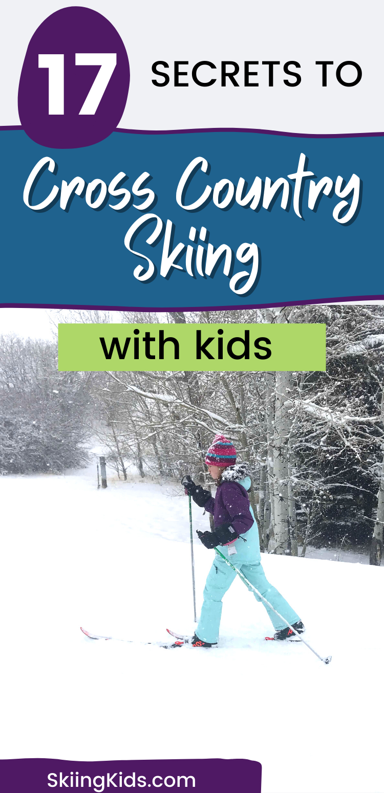 Tips for cross country skiing with kids