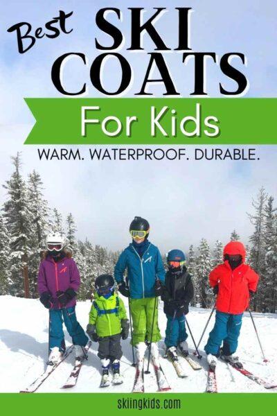 best kids ski coats