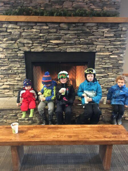 kids warm in winter