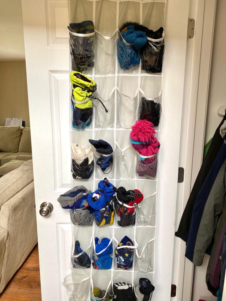 ski gear organizer