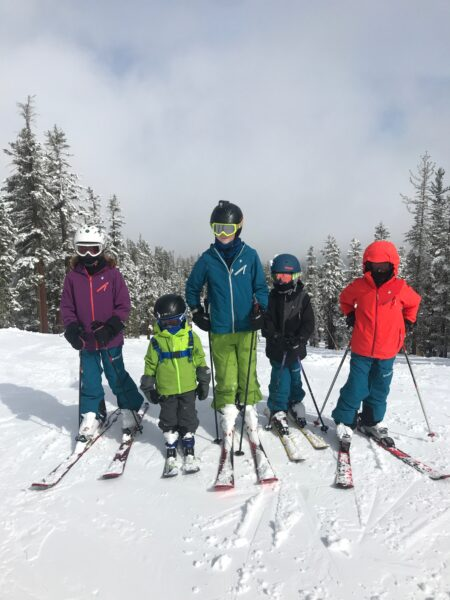 shred dog kids ski coats