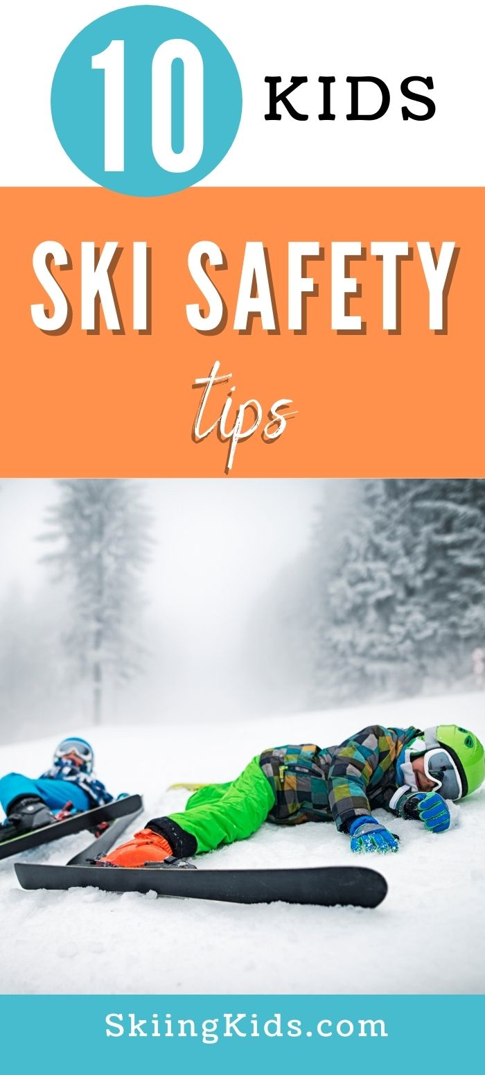ski safety tips for kids