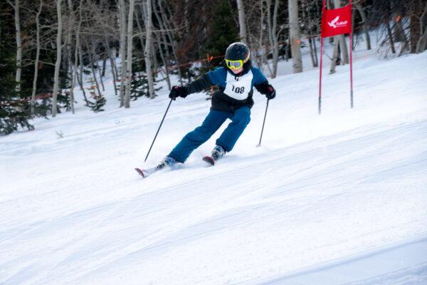 teen ski racer