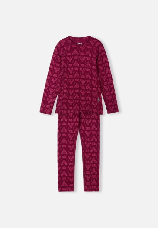 red kids thermals